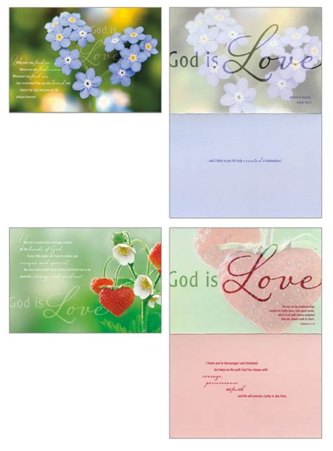 Find many great new & used options and get the best deals for christian greeting card encouragement at the best online prices at ebay! God is Love - Assorted Box of 12 Christian Encouragement Cards