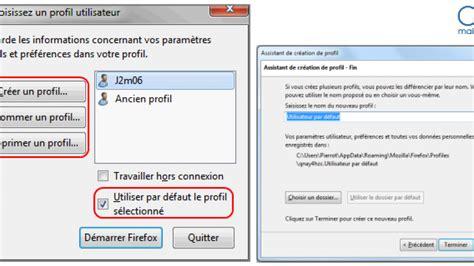 comment creer un raccourci sur mon bureau gestionnaire de profils créer plusieurs profils