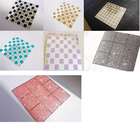 Transfers For Bathroom Tiles by Mosaic Mirror Tile Stickers Transfers Kitchen Bathroom