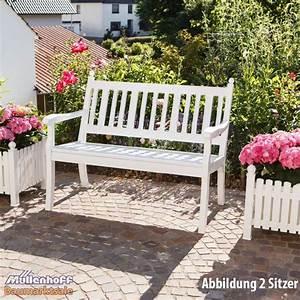 Gartenbank Weiß Metall : gartenbank landhausbank blome hohenzollern 3 sitzer wei metall profiltr ger ebay ~ Watch28wear.com Haus und Dekorationen