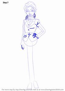 Learn How To Draw Shoko Inari From Princess Jellyfish Princess Jellyfish Step By Step