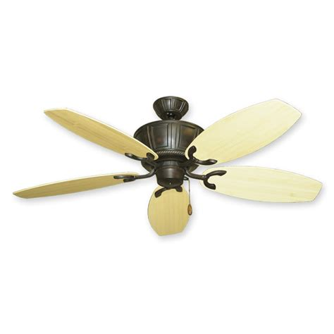 gulf coast ceiling fans 52 quot bamboo ceiling fan centurion by gulf coast oil