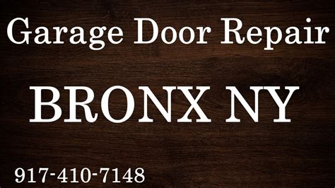 garage door repair ny garage door repair bronx ny 917 410 7148 overhead door