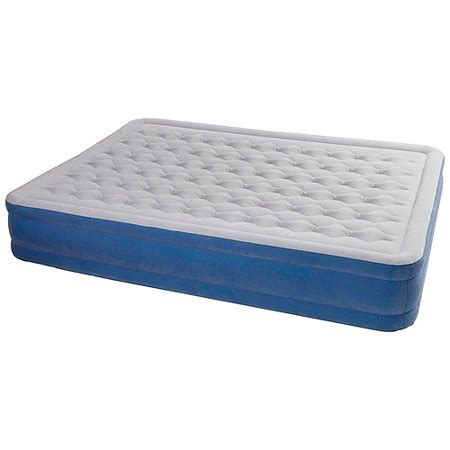 air mattress walmart ozark trail elevated air bed with built in
