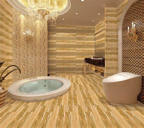 Wood Tiles In Bathroom by Wholesale Wood Look Tile Floor In Bathroom China Ceramic
