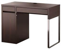 black brown micke ikea computer desk finding desk