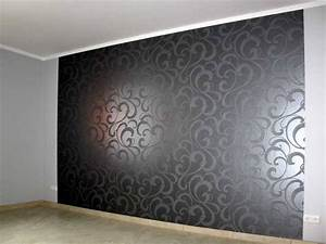 Tapeten Muster Wände : muster w nde wohnzimmer ~ Markanthonyermac.com Haus und Dekorationen