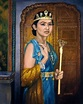 """""""Queen Esther Saving Her People"""" by Lester Yocum 