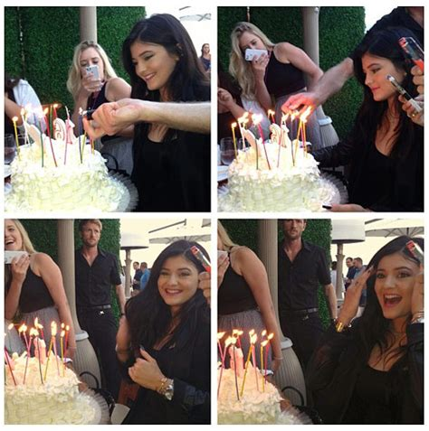 Kylie Jenner Rings In Her Sweet 16th With Lavish Family Dinner
