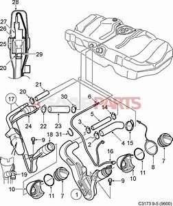 4727038  Saab Gas Cap  Filler Cap