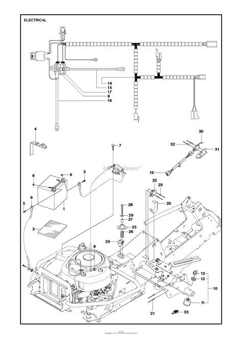 husqvarna    parts diagram  electrical