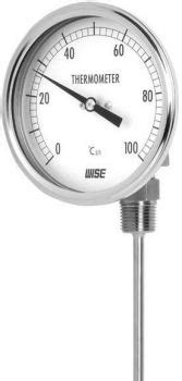 PRESSURE GAUGE & THERMOMETER INSTRUMENTS & CONTROLS