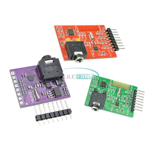 si4703 rds fm radio tuner evaluation breakout board for arduino avr ebay