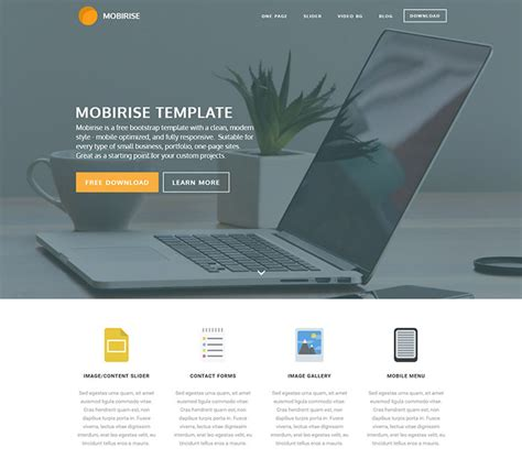 Free Website Templates Html5 66 Free Responsive Html5 Css3 Website Templates 2018