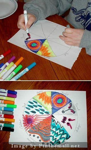 emotions color wheel description  activity  good