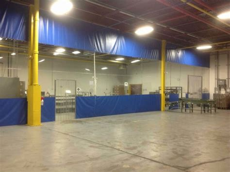 industrial warehouse curtain dividers commercial vinyl