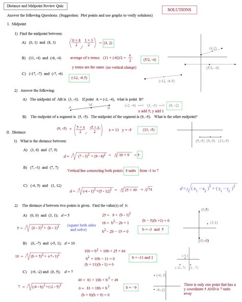 midpoint formula word problems worksheet worksheet distance formula word problems worksheet
