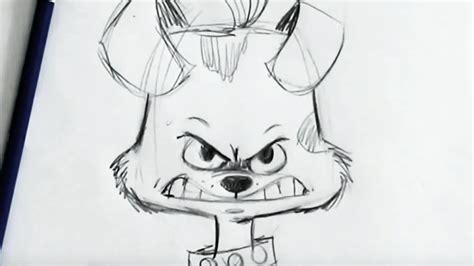 draw cartoon dog  beginners youtube