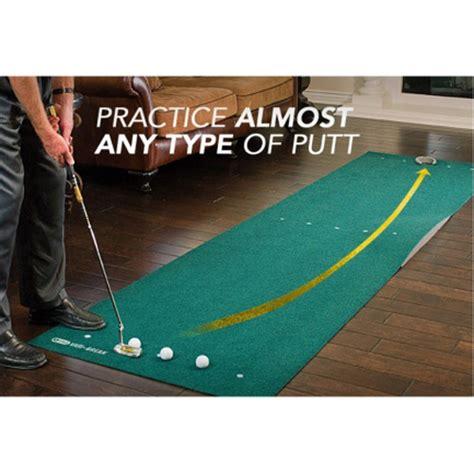 sklz putting mat sklz vari 12 x3 golf putting mat with putt pocket