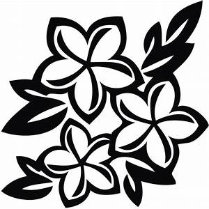 Black And White Flower Design Clipart | Free download best ...