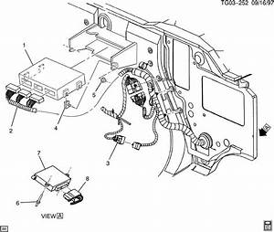 2000 Gmc Savana P C M  Module  U0026 Wiring Harness