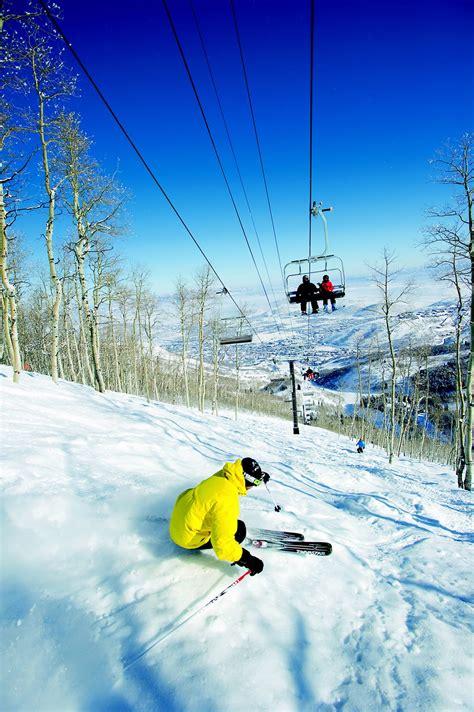 skiing park city mountain resort utah g l o b e t r e