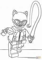 Coloring Lego Catwoman Pages Batman Printable Movie Sheets Print Wonder Lex Luthor Dolly Supercoloring Getcolorings Man Catwomen Toys Party Drawing sketch template