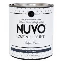 Nuvo Cabinet Paint Driftwood by Nuvo Cabinet Paint Quot Oxford Blue Quot Individual Quart