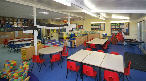 classroom fit out st alban s primary school