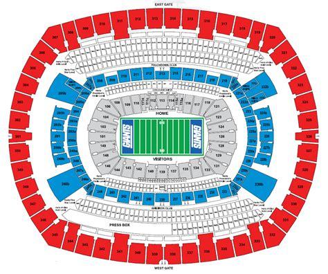 luxury gillette stadium seating chart  seat numbers