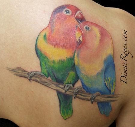 sparrow tattoos ideas pictures  lovebird tattoos
