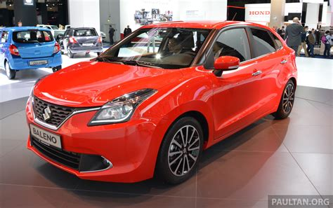 New Baleno Modification Accessories by Suzuki Unveils All New Baleno Sales In Europe By 2016
