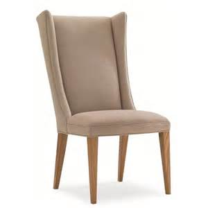 modern farmhouse modern upholstered wing back dining chair