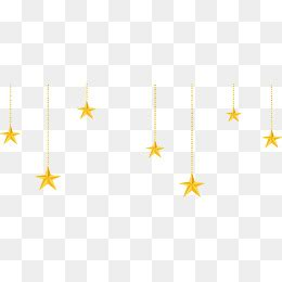 hanging stars png images vector  psd files