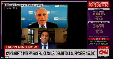Dr Fauci reveals hired personal security to protect his ...
