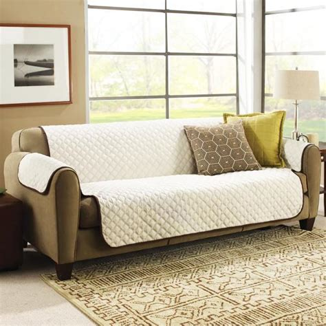 Sofa Savertm by Quot Sofa Saver Quot Quilted Reversible Furniture Protective Cover