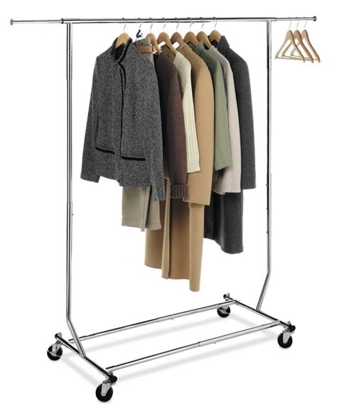 clothes racks for 5 best rolling garment rack make the laundry routine