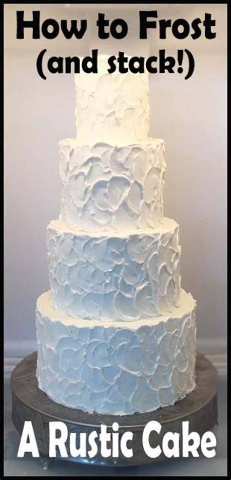 rustic frosting  stacking  delights shower