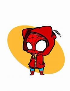 Chibi spiderman by Elizabetharte on DeviantArt