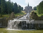 Castle And Waterfall Hesse Germany Stock Photo | Getty Images