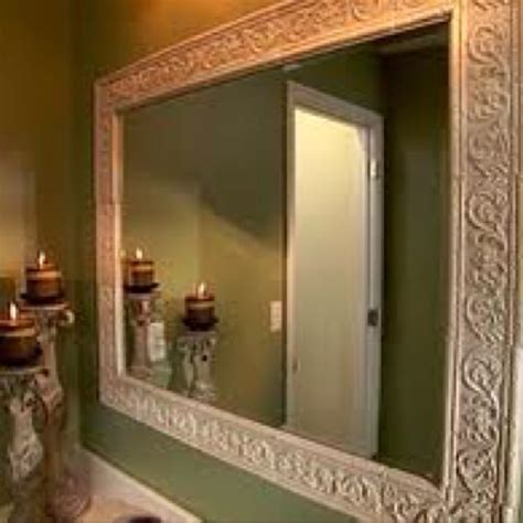 Framing An Existing Bathroom Mirror by 17 Best Images About Framing Bathroom Mirrors On