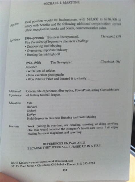 Best Resume Ever (photo) Huffpost