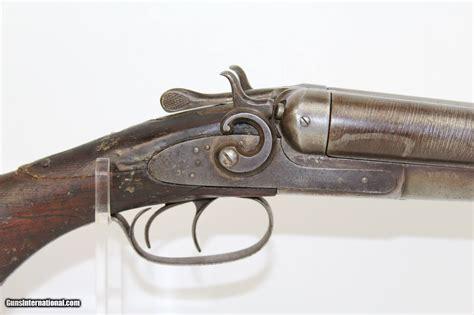 wells fargo marked antique remington shotgun