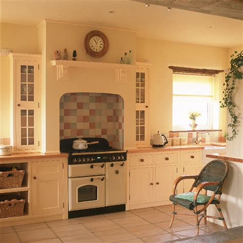 country kitchen tiles ideas shaker style country kitchen kitchen design ideal home