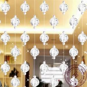 Rideau Porte D Entrée : pas cher cristal rideau pour fen tre restaurant de rideau ~ Dailycaller-alerts.com Idées de Décoration