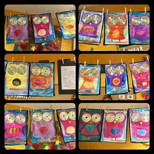 Mit Wasserfarbe Malen : cd eulen wasserfarben kunstunterricht malen und ~ Watch28wear.com Haus und Dekorationen