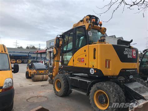 hydrema mx  wheeled excavators price  year