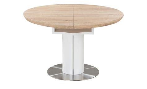 Esstisch rund ausziehbar weiß holzfarben  Möbel Höffner