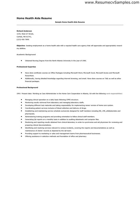 resume templates for home health aide home health aides quotes quotesgram