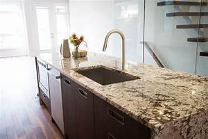 Plan De Travail Cuisine Granit : cuisine plan de travail cuisine granit avec rouge couleur ~ Dallasstarsshop.com Idées de Décoration